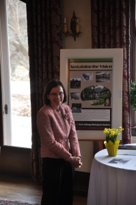 Manor House docent ready to give guest tours