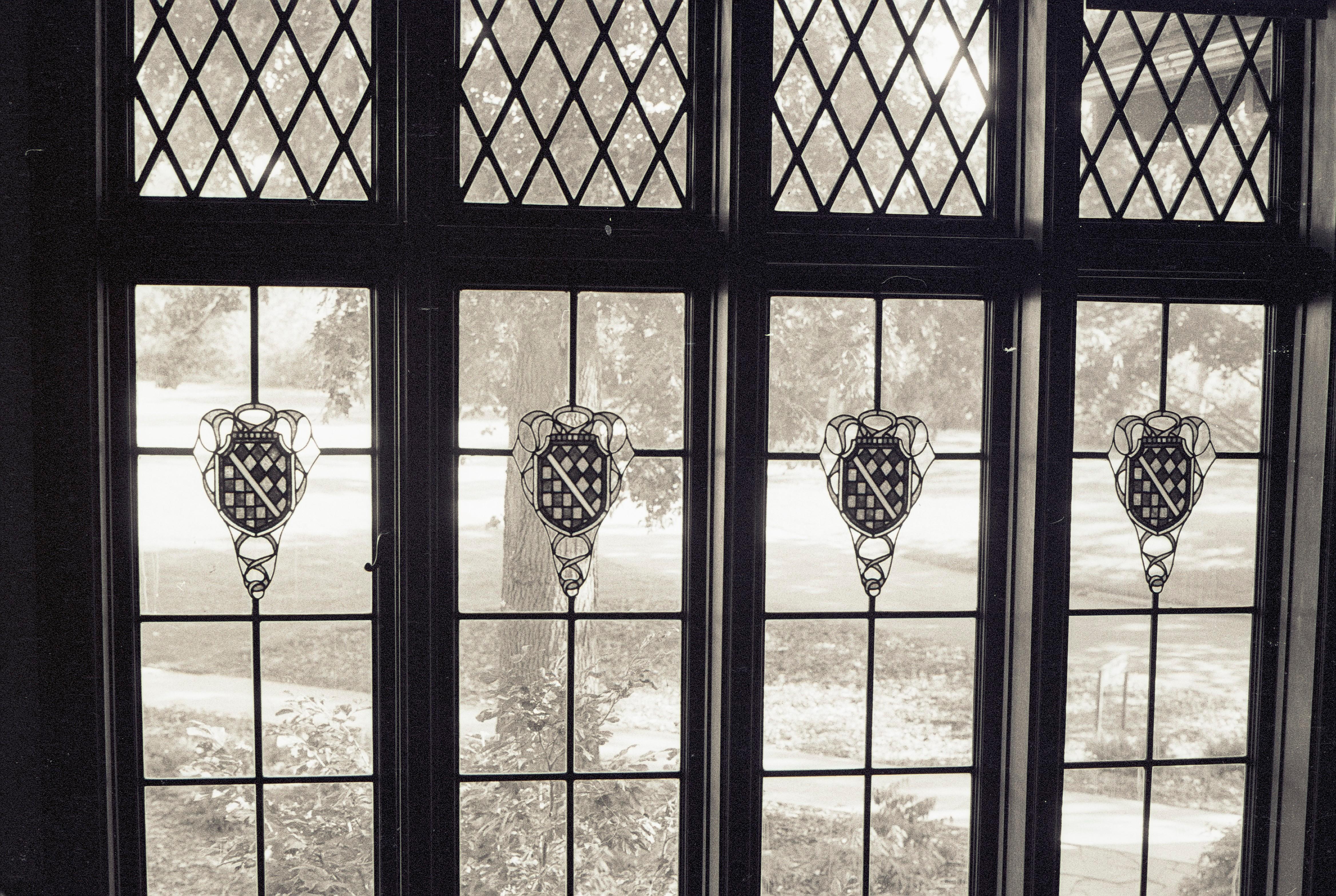 Heraldic Shields Manor House Interior