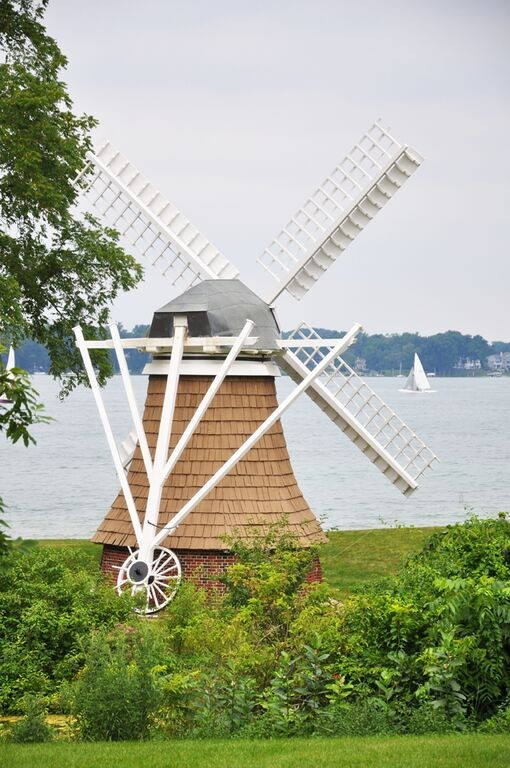 Windmill from back overlooking Gull Lake