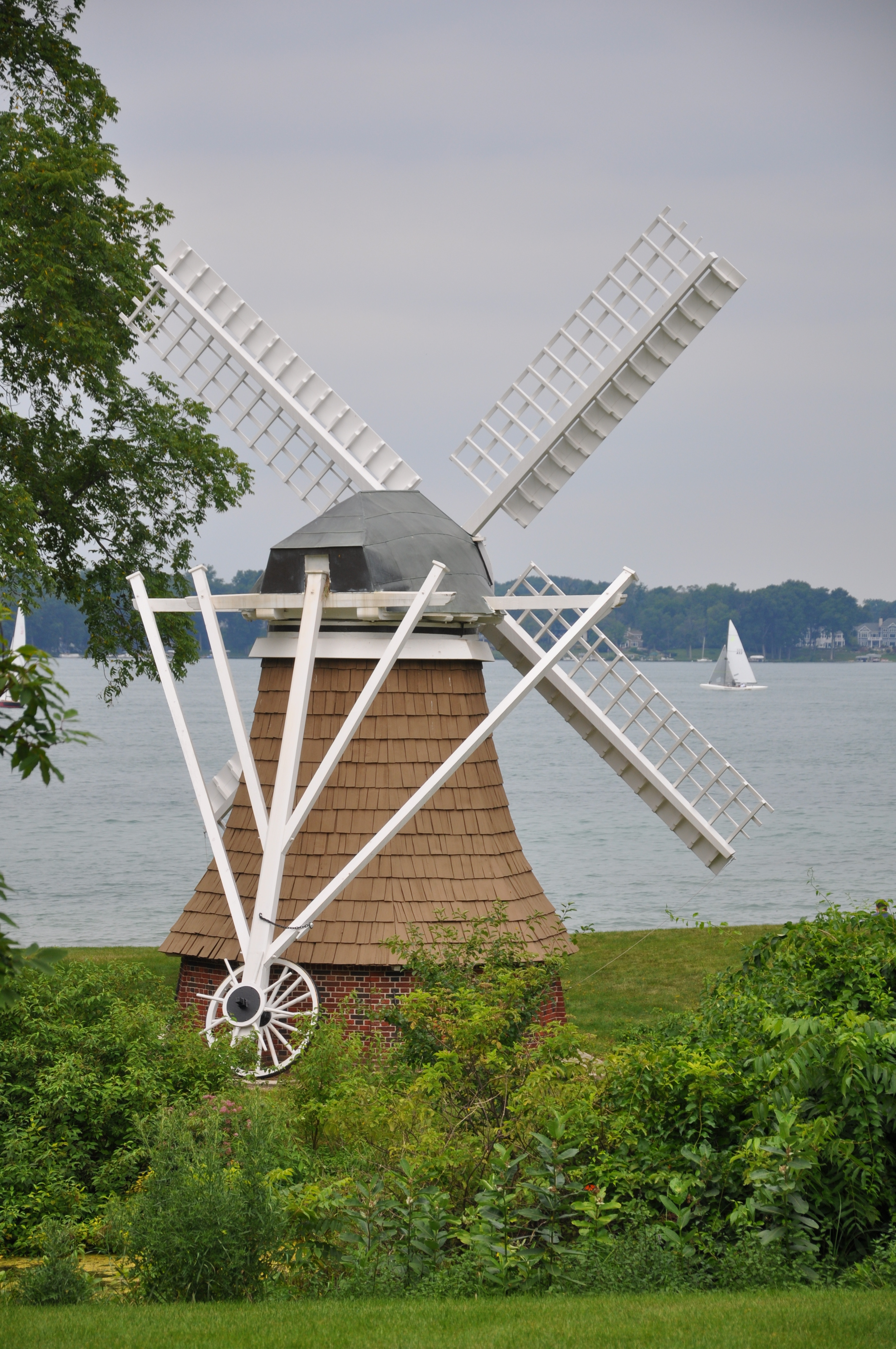 Windmill from back on Gull Lake
