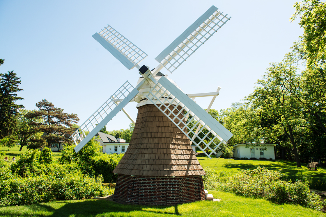 Windmill on Gull Lake