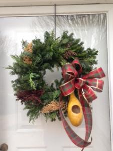 Birdlover's wreath