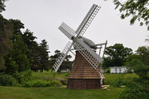 Windmill on the Manor House Estate grounds