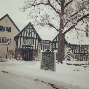 Winter at the Kellogg Manor House