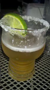 Mojito Blonde Beer Sample