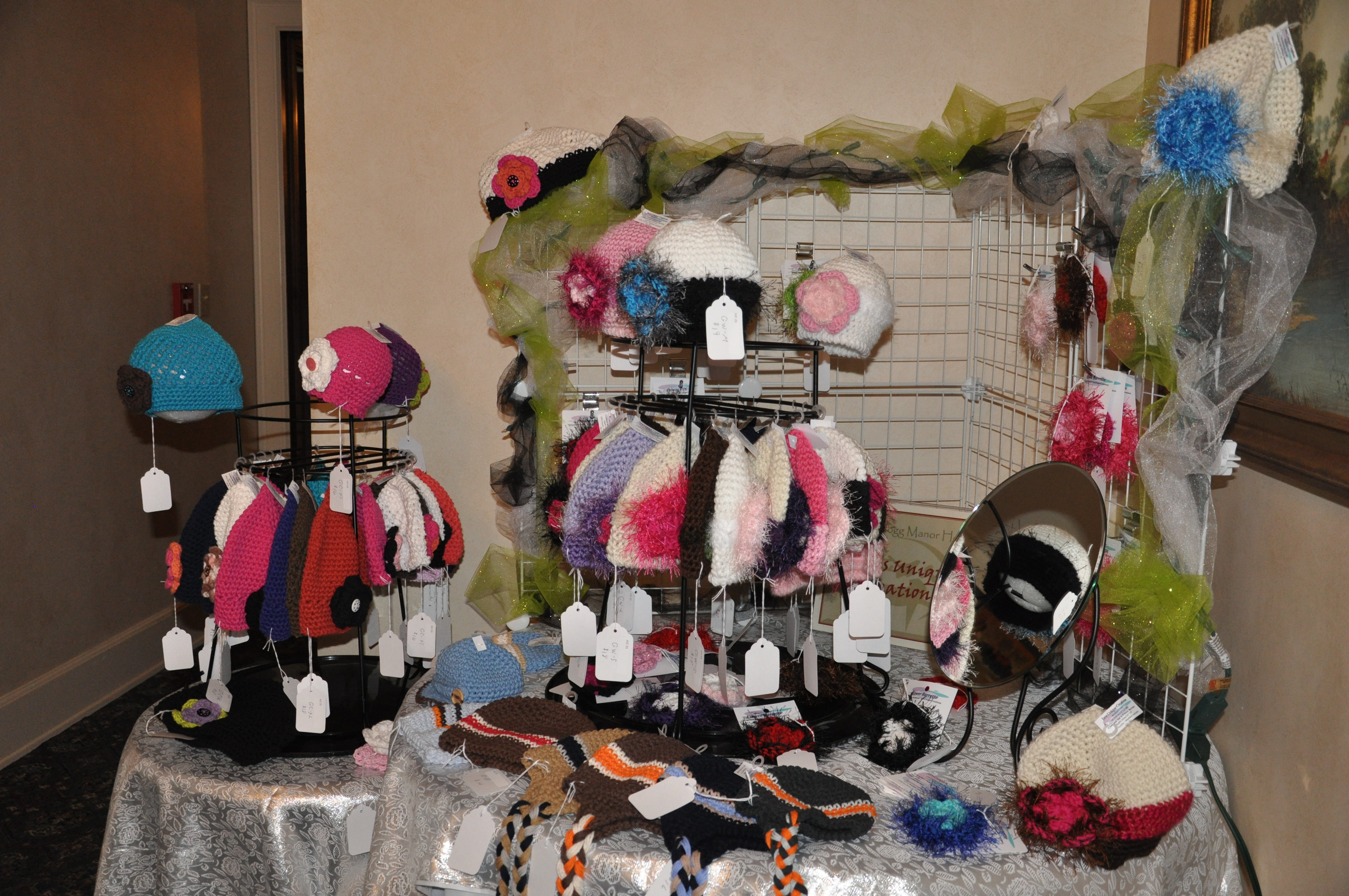 Holiday Walk Vendor Items-knitted hats