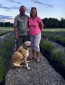 Owners of Shades of Lavender Farm in Mattawan, MI